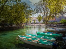 Alpler'in Eteklerinde Bir Kanallar Şehri; Annecy